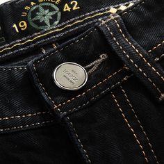 Buy Jeans, Slim Jeans, Piel Natural, Denim Branding, Jeans Button, Raw Denim, Calvin Klein Jeans, Denim Fashion, Jeans Style