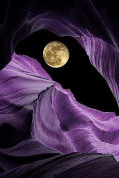 Luna misteriosa...