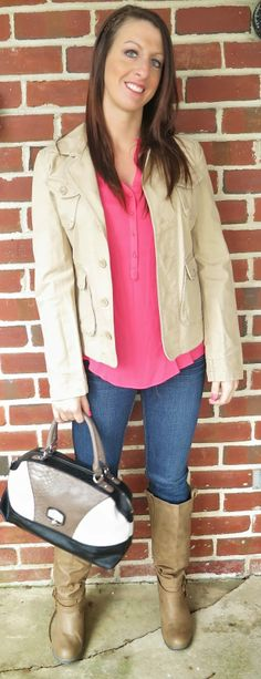 Outfit of the Day: Casual Pinks