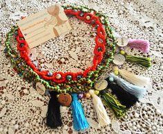Collar cadena y pompon - Littlethingscomplementos - Kolie