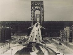 This is the way the George Washington Bridge looked in 1934 from the New York side. The changes that have occurred in the past 80 years are abundant. Fort Lee, Washington Heights, Hudson River, George Washington Bridge, Staten Island, New York City, Entrance, Brooklyn, The Past