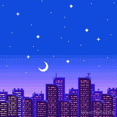 Animated gifFind images and videos about gif, art and pixel on We Heart It - the app to get lost in what you love. Aesthetic Gif, Aesthetic Backgrounds, Blue Aesthetic, Aesthetic Wallpapers, Vaporwave Gif, Arte 8 Bits, Pixel Art Background, 8bit Art, Art Anime