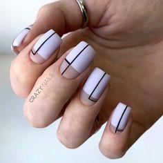 110 best natural short nails design ideas for autumn - page 65 of 110 - fab nails - nai . - 110 best natural short nails design ideas for autumn – page 65 of 110 – fab nails – nailideas - Square Nail Designs, Short Nail Designs, Nail Art Designs, Nails Design, Nail Polish, Shellac Nails, Toe Nails, Coffin Nails, Minimalist Nails