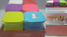610ml Plastic Meal Prep Food 12pcs Containers Lunch Box Storage Tubs Gym Fitness #PlasticForte