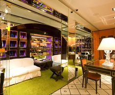 Tory Burch Store - Purple, Orange, Lime Green, oh my!