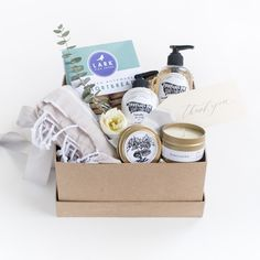 """""""Hostess with the Mostess"""" Gift Box by Marigold & Grey // housewarming gift / thank you gift / wedding welcome gifts / hostess gift / bridesmaid gift / client gift / corporate gift / bridal shower gift / engagement gift / bride / bride-to-be / engaged / Source: https://www.marigoldgrey.com/shop/pre-designed-gifts.html"""