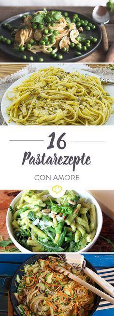 Spaghetti, Linguine, Tagliatelle - heute gibt es Pasta. Mit Spargel, à la Ratatouille und al Pesto - die besten Begleiter für laue Sommerabende.