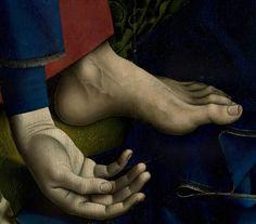 .:. Detail from The Descent from the Cross, Rogier van der Weyden