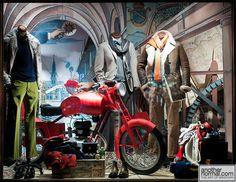 """""""is that your bike?"""" pinned by Ton van der Veer"""
