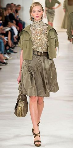 Runway Looks We Love: New York Fashion Week - Spring/Summer 2015 from #InStyle