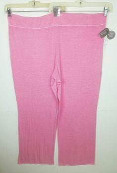 bc8536ab10fb6 Secret Treasures Women s Size 3X Sleep Full Pants Pink Burnout Rayon  Spandex  SecretTreasures  LoungePantsSleepShorts