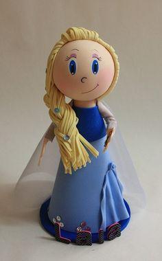 Elsa, fofucha.  http://handcraftpinterest.blogspot.com/