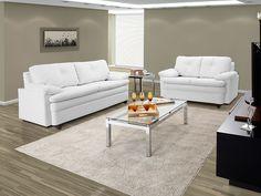 E se você já tem um pouquinho mais de espaço, um sofá de 3 lugares!