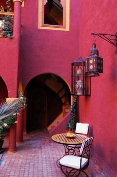 The absolutely gorgeous Riad Noga, Marrakech. #Moroccan #InteriorDesign #Decor #House #Lanterns #Lighting mycraftwork.com