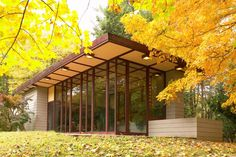 Penfield House / 2203 River Rd, Willoughby Hills, OH / 1955 / Usonian / Frank Lloyd Wright