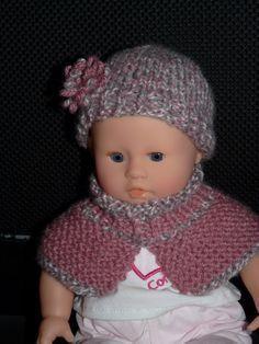 Partager Tweeter + 1 E-mail Comme il me restait de la laine utilisée pour le col de ma nièce je me suis dit et pourquoi ne pas faire un truc pour son bébé? Ni une ni deux j'ai décidé de lui faire un petit bonnet avec son col qui va bien :  Pour l'ensemble j'ai utilisé de la laine Bergère de France en 4 et des aiguilles 3.5 Bonnet: Monter 48 mailles - 4 rangs de cotes 1/1 Jersey sur 6 cm de hauteur totale  Diminutions ( * = jusqu'au bout du rang): - 4m endroit - [2 diminutuions - 4…