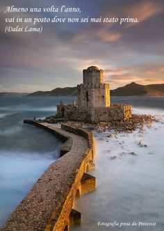 Ancient Fortress of Methoni, Peloponnese, Greece.