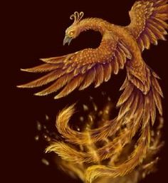 Chinese phoenix - Fenghuang are mythological.Images of an ancient bird have appeared in China for over 7,000 years. The phoenix represented power sent from the heavens to the Empress.