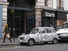 André Graffiti Car, Pigalle