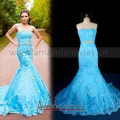 blue wedding dress:  1.10 days prodection.  2.custom made size,color  3.OEM factory