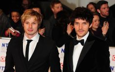 Merlin and King Arthur! ... I mean Bradley and Colin!!!!