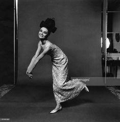 Audrey Hepburn, actress, modeling an embroidered...#AudreyHepburn #vintage #celebrities #actresses #1940s #1950s