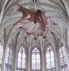 Peter Gentenaar's ethereal paper sculptures