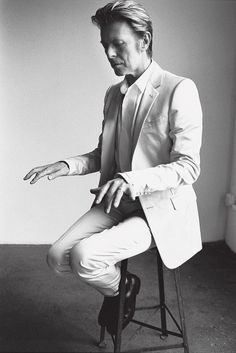 David Bowie. How cool is this guy? ULTRA