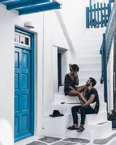 Hello again, here's another Mykonos post, but this time photos from outside of the hotel! Normally I make posts with tips and my favourite places from a city, but unfortunately I won't do this today because… Couple Photography, Photography Poses, Couple Goals Cuddling, Couples Vacation, Photo Vintage, Love Is In The Air, Vacation Pictures, Cute Relationships, Relationship Goals