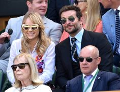 Pin for Later: All Eyes Were on Bradley Cooper and His Girlfriend at Wimbledon