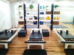Manhattan's newest Pilates studio, New York Pilates, is thoroughly contemporary—in both interior design and fitness approach.