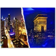 Trademark Fine Art Cities at Night Canvas Art by Philippe Hugonnard, Size: 18 x 24, Multicolor