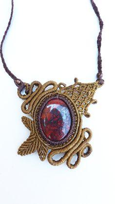 Goddess Lapis lazuli pendant. Egyptian pendant. Fantasy jewelry. Elven jewelry…