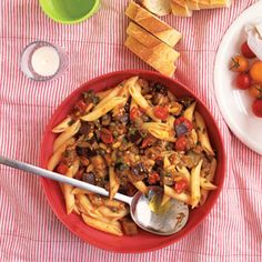 Eggplant Pasta Salad and 24 more Summer Pasta Salads - on MyRecipes.com