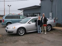 LEWIS and UNA NELSON of Mulberry Grove and their new 2014 CHEVROLET IMPALA! Congratulations and best wishes from Hosick Motors, Inc. and Sales Pro Bryan Hobbie.