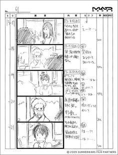 <썸머워즈> 호소다 마모루의 스케치와 그림들 : 네이버 블로그
