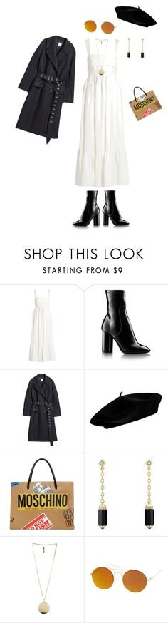 """G.A.L.A"" by nicole-hernandez-vi on Polyvore featuring moda, Chloé, Louis Vuitton, Moschino, David Yurman, Givenchy y SW Global"