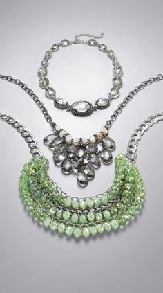 Simply Vera Vera Wang Two-Tone Bead Bib Necklace. #Kohls