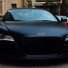 Satin Black Audi My Dream Car