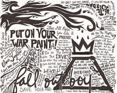 Fall out boy lyrics from the save rock and roll album