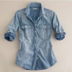 -denim shirts - basic tee!