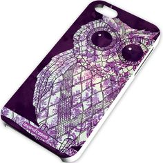 Inspired Cases Vintage Purple Damask Owl Case for iPhone 5 & 5s Inspired Cases