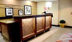 Hotel Front Desk - Hampton Inn Denver International Airport (DIA) Hotel