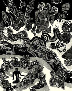 AMYGDALA - Boris Pramatarov - Livre solo / United Dead Artists
