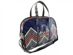 c9b5ff096074 TRAVEL BAG OR SPORTS BAG PAUL MECCANICO. MODEL RAID COLOUR BLUE FANTASY  GEOMETRIC.