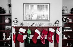 4 Unique Ways to Display (and Decorate) Stockings - Ribbon craft inspiration!
