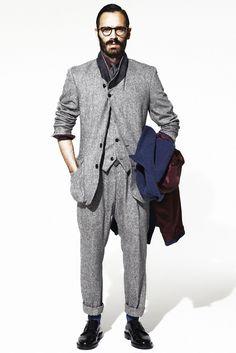 Umit Benan - Fall 2011 Menswear