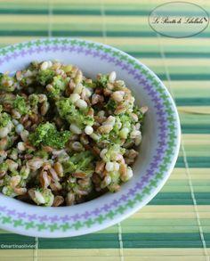 Farro con broccoli