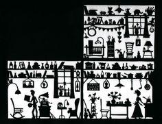 Folk Art Papercuts by Suzy Taylor: House Papercut Rob Ryan, Suzy, Paper Cutting, Home Art, Folk, House, Haus, Folk Music, Home