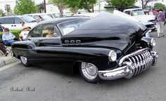 1950 buick! Just NASTY decals chromed and mean grill!